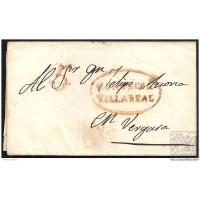 1842. ESPAÑA. SPAIN. AZCOITIA A VERGARA.