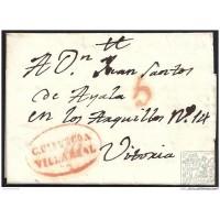 1833. ESPAÑA. SPAIN. CEJAMA A VITORIA.