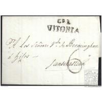 1807. ESPAÑA. SPAIN. VITORIA A SAN SEBASTIAN.