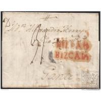 1805. ESPAÑA. SPAIN. BILBAO A GANTE.