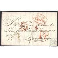 1842. ESPAÑA. SPAIN. BILBAO A BURDEOS.