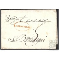 1831. ESPAÑA. SPAIN. SAN SEBASTIAN A BERASTEGUI.