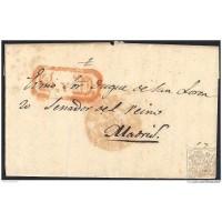 1841. ESPAÑA. SPAIN. LEGANÉS A MADRID.