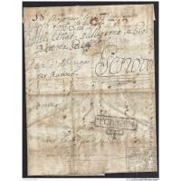 1797. ESPAÑA. SPAIN. CÁDIZ A GÉNOVA.