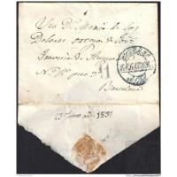 1839. ESPAÑA. SPAIN. TALAVERA DE LA REINA A BARCELONA.