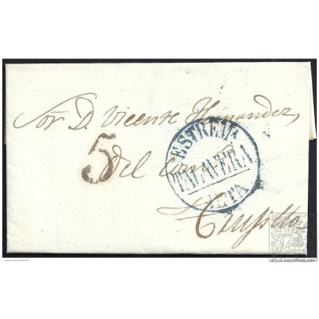 1841. ESPAÑA. SPAIN. TALAVERA A TRUJILLO.