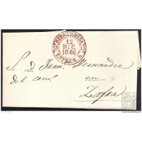 1846. ESPAÑA. SPAIN. BIENVENIDA A ZAFRA.