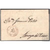 1848. ESPAÑA. SPAIN. BROZAS A ARROYO DEL PUERCO.