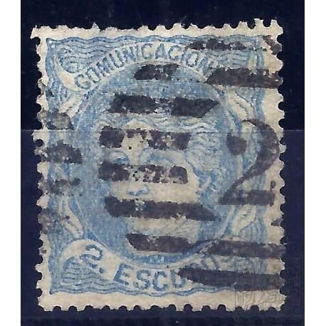 EMISIONES CLASICAS. ED. 112. 1870. ESPAÑA. SPAIN. 2 ESCUDOS.