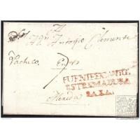 1827. ESPAÑA. SPAIN. MONASTERIO A MERIDA.