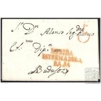 1840. ESPAÑA. SPAIN. MERIDA A BADAJOZ.