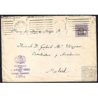 1929. ESPAÑA. SPAIN. BARCELONA A MADRID.