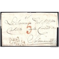 1827. ESPAÑA. SPAIN. ALAEJOS A SALAMANCA.