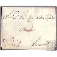 1836. ESPAÑA. SPAIN. ALAEJOS A AMUSCO.
