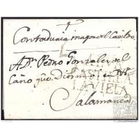 1814. ESPAÑA. SPAIN. ALBA DE TORMES A SALAMANCA.
