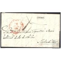1837. ESPAÑA. SPAIN. BENAVENTE A MADRID.