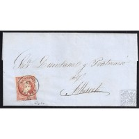 ALBACETE. 1859. ESPAÑA. SPAIN. HELLIN A ALBACETE.
