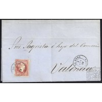 ALBACETE. 1859. ESPAÑA. SPAIN. TARAZONA A VALENCIA.