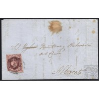 ALBACETE. 1862. ESPAÑA. SPAIN. LA RODA A ALBACETE.