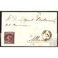 ALBACETE. 1862. ESPAÑA. SPAIN. BALLESTERA A ALBACETE.