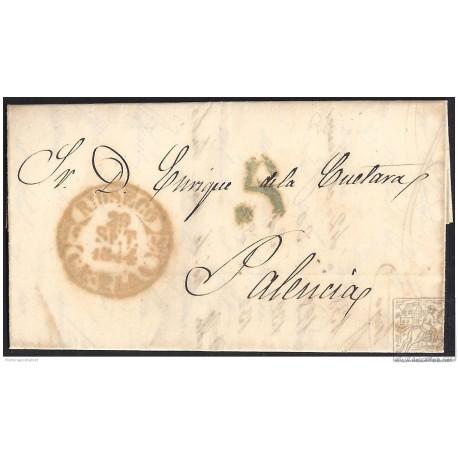 1844. ESPAÑA. SPAIN. VILLAFRECHOS A PALENCIA.