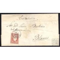 ALMERIA. 1859. ESPAÑA. SPAIN. 4 CUARTOS. ED. 48. VERA A BLANES.
