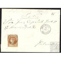 BALEARES. 1860. ESPAÑA. SPAIN. 4 CUARTOS. ED. 52. LLUCHMAYOR A PALMA.