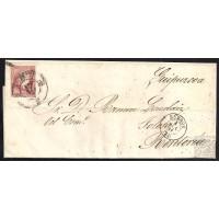 BURGOS. 1859. ESPAÑA. SPAIN. 4 CUARTOS. ED. 48. BURGOS A RENTERIA.