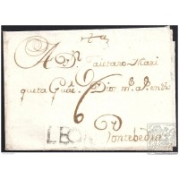 1768. ESPAÑA. SPAIN. RIOSECO A PONTEVEDRA.