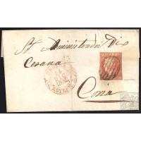 CACERES. 1862. ESPAÑA. SPAIN. 6 CUARTOS. ED. 12P. BROZAS A CORIA.