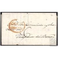 1843. ESPAÑA. SPAIN. VILAR A VILLAFRANCA DEL BIERZO.
