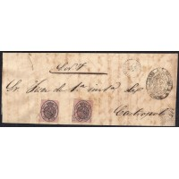 LUGO. 1865. ESPAÑA. SPAIN. UNA ONZA. ED. 3. RIVADEO A CASTROPOL.