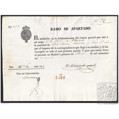 1840. ESPAÑA. SPAIN. MADRID.