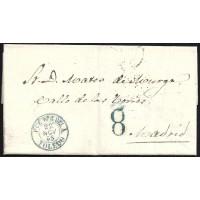 TOLEDO. 1855. ESPAÑA. SPAIN. PUENTE DEL ARZOBISPO A MADRID.