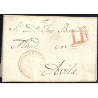 1846. ESPAÑA. SPAIN. VILLA DEL HORNILLO A AVILA.