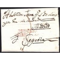 1817. ESPAÑA. S PAIN. MEDELLIN A SEGOVIA.