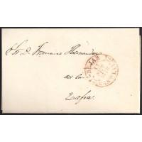 1848. ESPAÑA. SPAIN. BEJAR A ZAFRA.