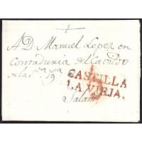 1824. ESPAÑA. SPAIN. PEÑARANDA A SALAMANCA.