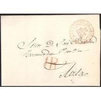1850. ESPAÑA. SPAIN. PIEDRAHITA A AVILA.