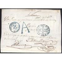1857. ESPAÑA. SPAIN. BETANZOS A ORDENES.