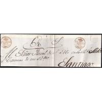 S/F. CIRCA 1830. ESPAÑA. SPAIN. TUY A SANTIAGO.