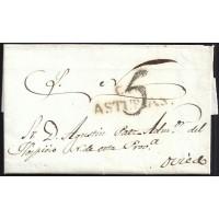 1841. ESPAÑA. SPAIN. CANGAS DE ONIS A OVIEDO.