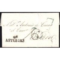 1824. ESPAÑA. SPAIN. GIJON A RIVADEO.
