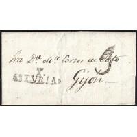 1840. ESPAÑA. SPAIN. CANGAS A GIJON.