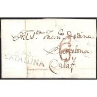 1826. ESPAÑA. SPAIN. REUS A CALAF.