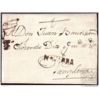 1769. ESPAÑA. SPAIN. LOS ARCOS A PAMPLONA.
