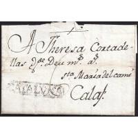 1781. ESPAÑA. SPAIN. CERVERA A CALAF.