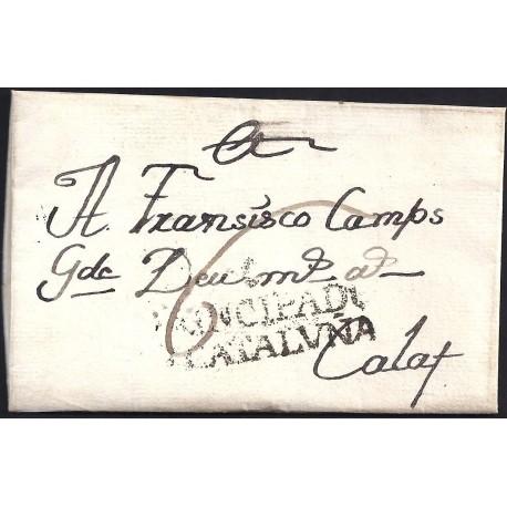 1792. ESPAÑA. SPAIN. ERDO A CALAF.