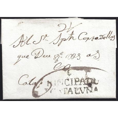 1791. ESPAÑA. SPAIN. POBLA DE SEGUR A CALAF.