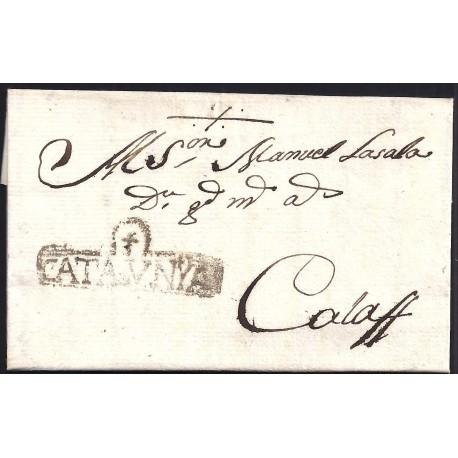 1799. ESPAÑA. SPAIN. TARREGA A CALAF.